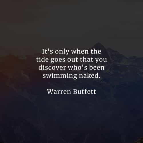 Famous quotes and sayings by Warren Buffett