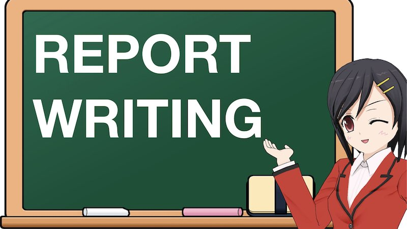 SCHOOL SECTION REPORT WRITING