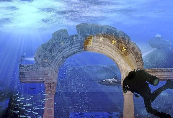 Υποβρύχιο θεματικό πάρκο προετοιμάζεται στο Ντουμπάι