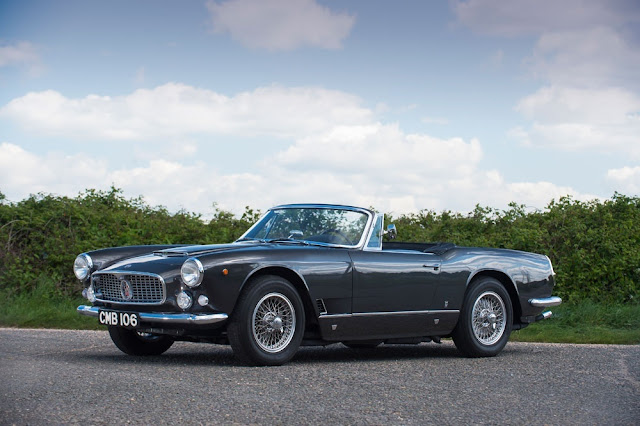 1960 Maserati 3500 GT Vignale Spyder for sale at Kidston SA - #Maserati #GT #Vignale #Spyder #classic_car #for_sale