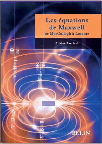 Livre : Les équations de Maxwell - De McCullagh à Lorentz PDF