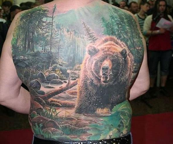Best Tattoos For Men: Nature Tattoo