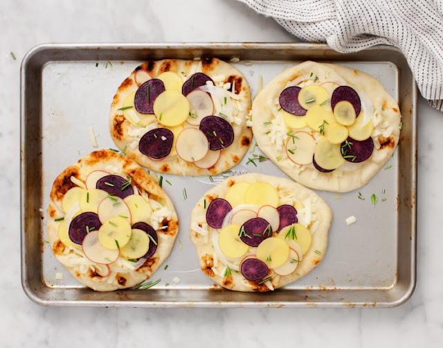 ميني بيتزا البطاطس