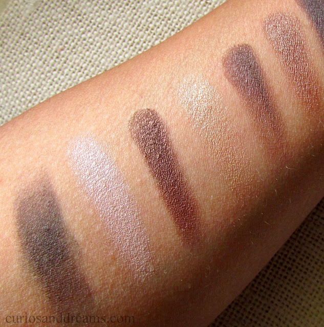 Maybelline The Nudes Eyeshadow Palette, Maybelline The Nudes Eyeshadow Palette review, Maybelline The Nudes Eyeshadow Palette swatches