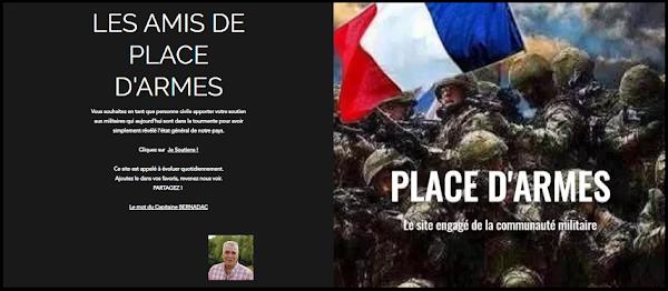LES AMIS CIVILES DE PLACE D'ARMES APPORTEZ ÉGALEMENT VOTRE SOUTIEN !