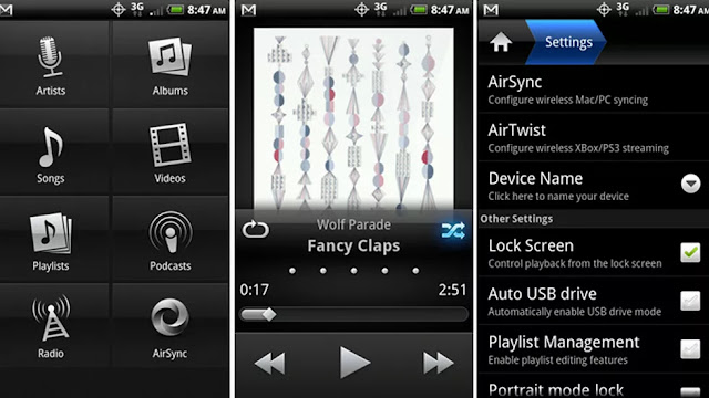 music and podcast player app android