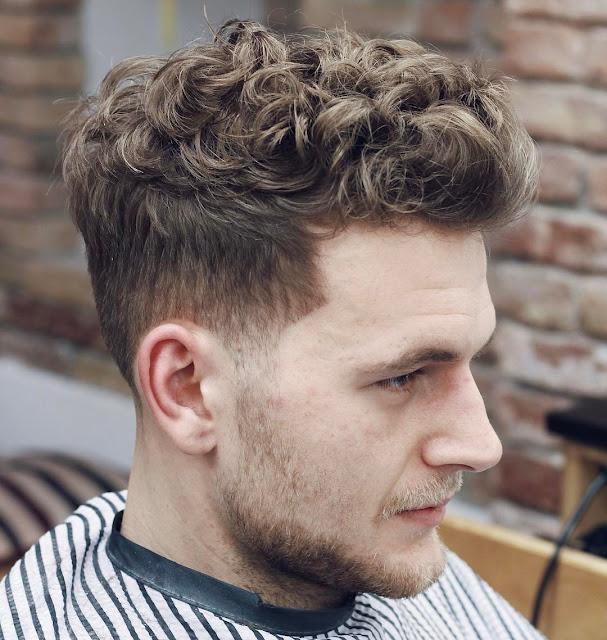 curls for men's hair