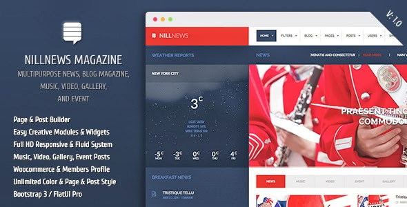 Premium News Magazine WordPress Template