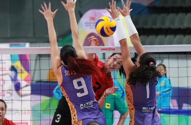 Cúp các CLB nữ vô địch châu Á 2018: Thêm một trận thắng cho VTV Bình Điền Long An