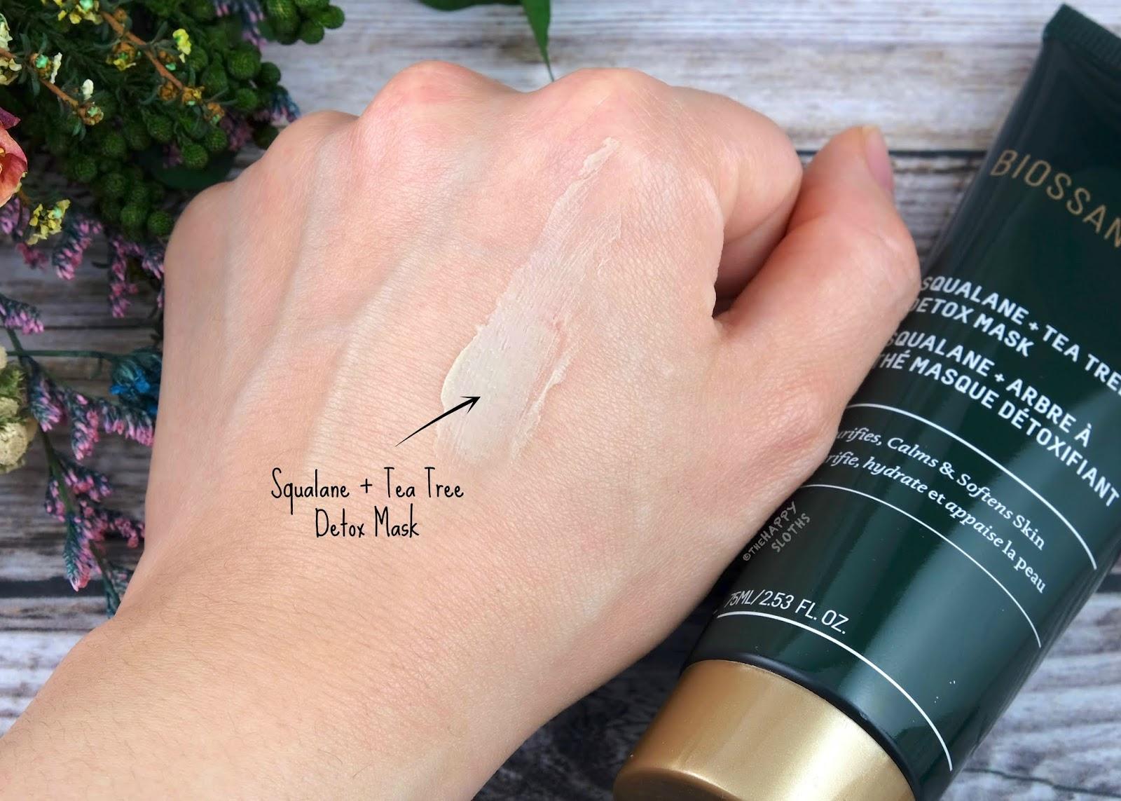 Biossance   Squalane + Tea Tree Detox Mask: Review
