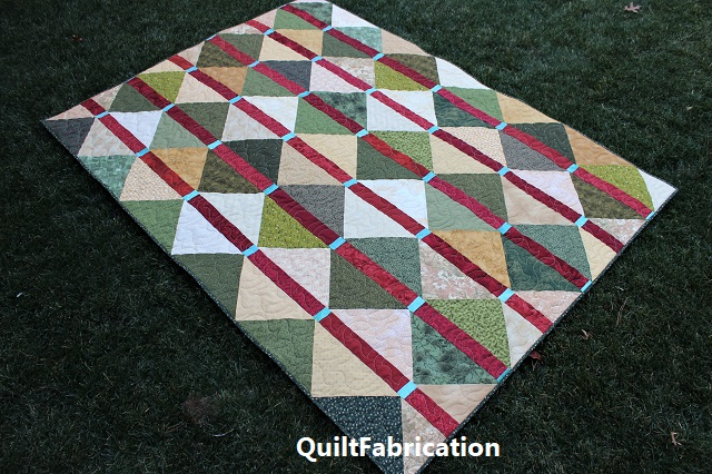McKenzie quilt full on by QuiltFabrication