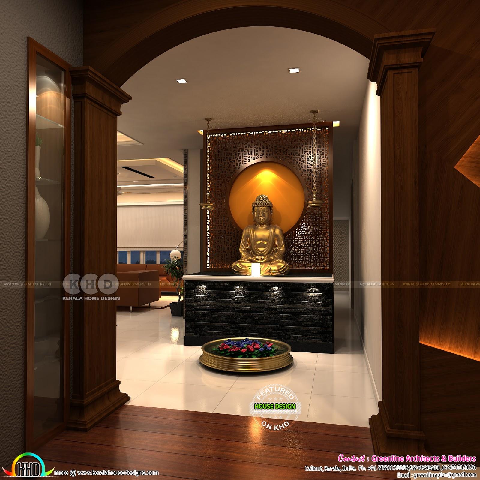 Modern Interior Designs Of 2018 Kerala Home Design And