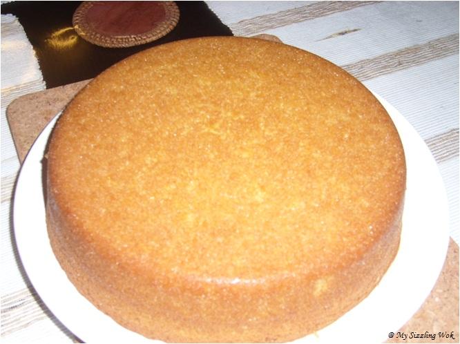 My Sizzling Wok: Moist Orange Cake