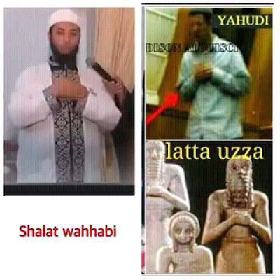 Sholat umat wahabi mirip sembahyang yahudi