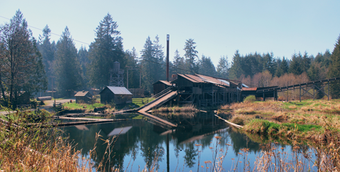 McClean Mill Vancouver Island BC