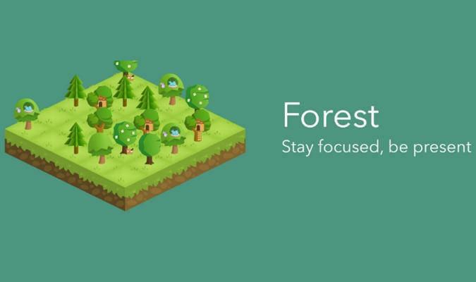 Aplikasi Android tuk Bantu Atasi Kecanduan HP - Forest
