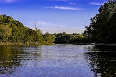 Mississippi river landscape