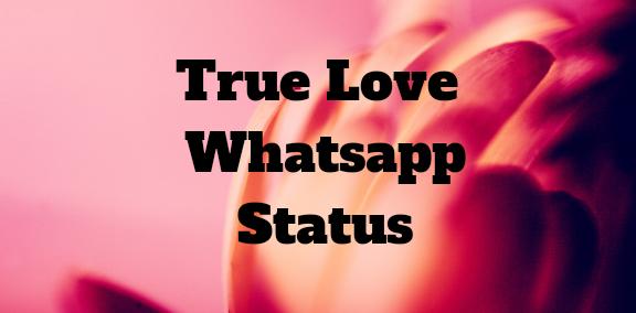 True Love Whatsapp Status New