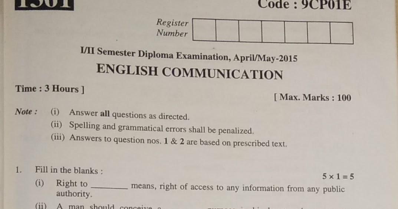 STUDENT SPOT(Diploma In Polytechnic Education -Karnataka
