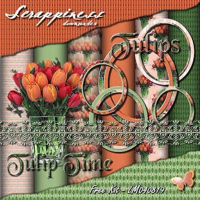 Tulip Time - Free Kit LM040819