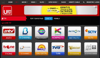 Aplikasi Nonton TV dan Streaming Film di Android