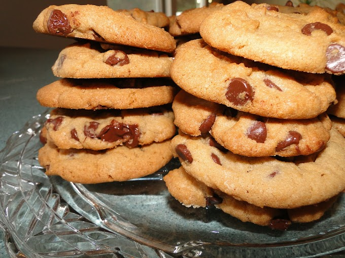 Chocolate Chip Flying Saucers