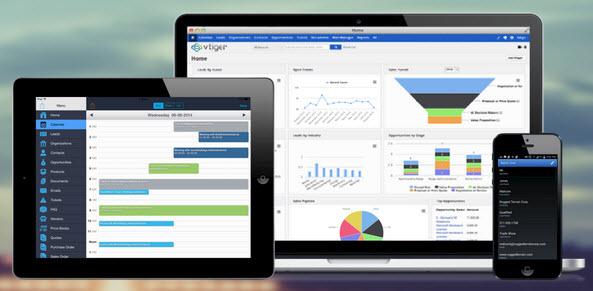 vTiger Software Gratis Online