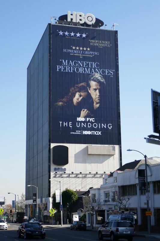 Undoing giant HBO FYC billboard