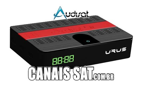 Audisat K10 Urus Nova Atualização V2.0.55 - 14/08/2020