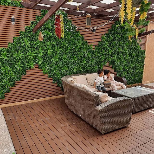 شركة تركيب عشب للجدار في الطائف