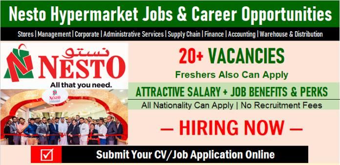 Nesto Hypermarket Jobs | Urgent Nesto Career Vacancies