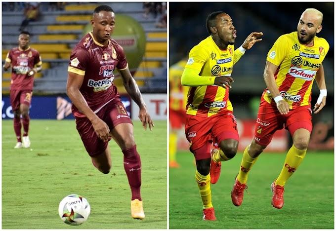 Definido el rival del DEPORTES TOLIMA en la semifinal de la Copa BetPlay 2021: Será Deportivo Pereira
