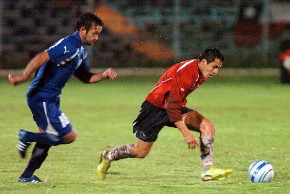 Chile y Guatemala en partido amistoso, 4 de junio de 2008