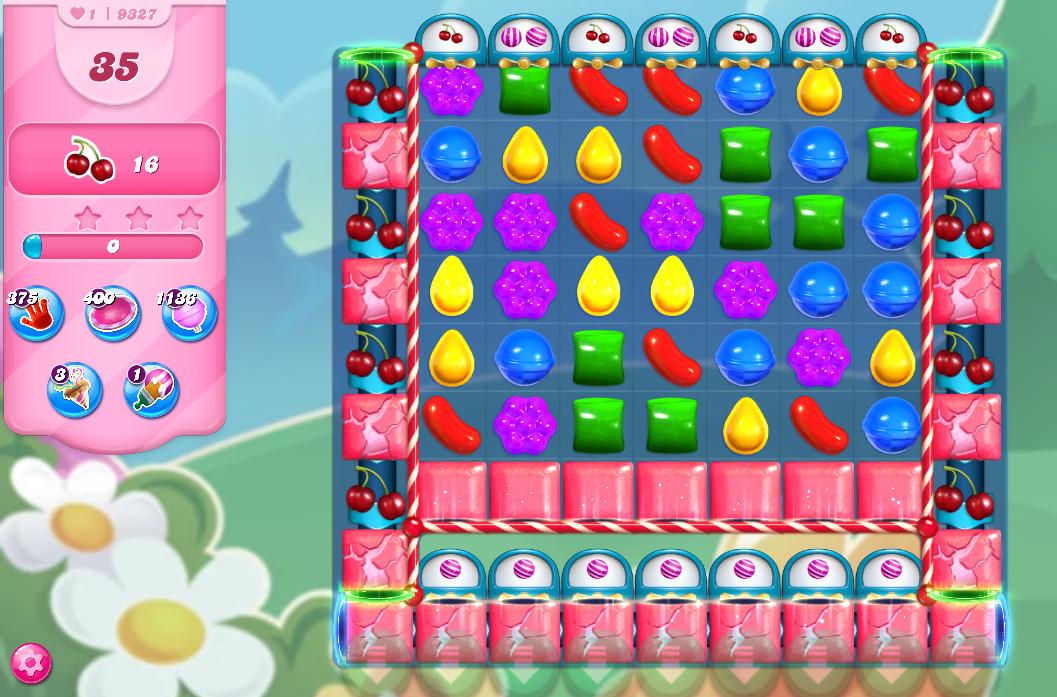 Candy Crush Saga level 9327