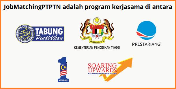 Cara memohon program Job Matching PTPTN untuk pelajar di Malaysia