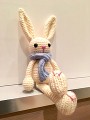 PATTERN: Bryce the Bunny - Crochet bunny pattern - amigurumi ... | 240x180
