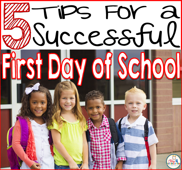 Have a successful first day of school and start the year off with a bang!!!