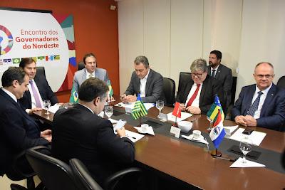 Governadores do Nordeste dialogam sobre Reforma da Previdência em Brasília