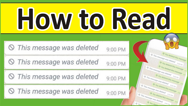 How to Read Deleted Message on WhatsApp Messanger (2020) | This Message was Deleted