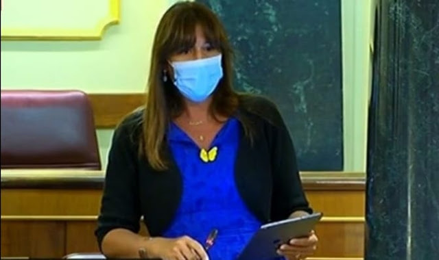 Laura Borrás. Congreso