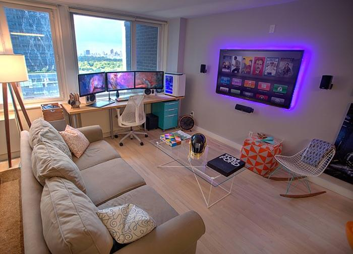 modern oyun odası