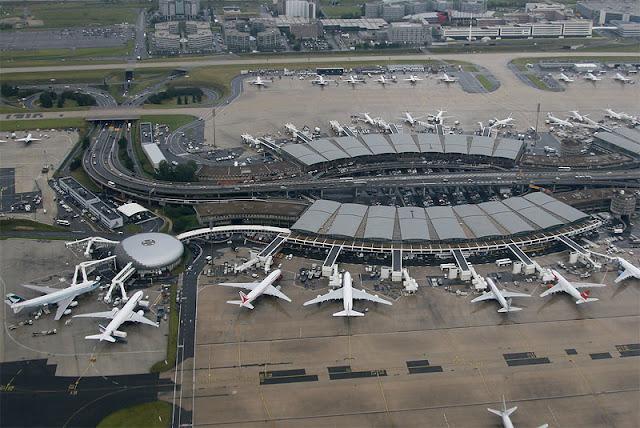 Hướng dẫn từ sân bay Charles De Gaulle về Paris
