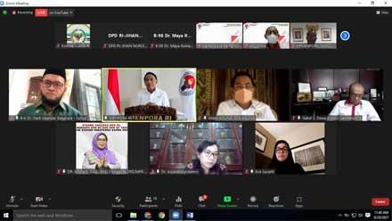 Komite III DPD RI Cek Kesiapan Menpora