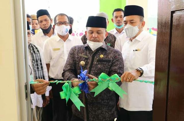 Bupati Pidie Jaya Resmikan Gedung Baru Lembaga Pendidikan Ulumul Quran (LPUQ)