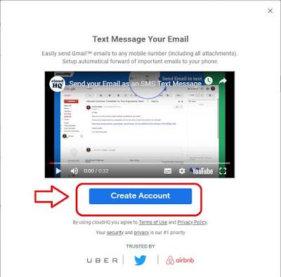كيفية ارسال رسائل مجانية للموبايل من النت عن طريق Gmail