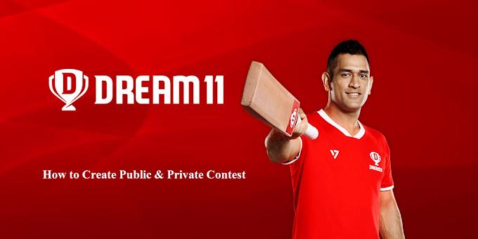 How to Create Private Contest in Dream11 2021