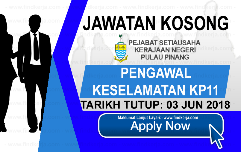 Jawatan Kerja Kosong SUK Pulau Pinang logo www..findkerja.com www.ohjob.info jun 2018