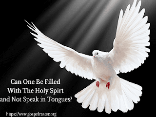 Can I be filled with the Holy Spirit and not speak in tongues
