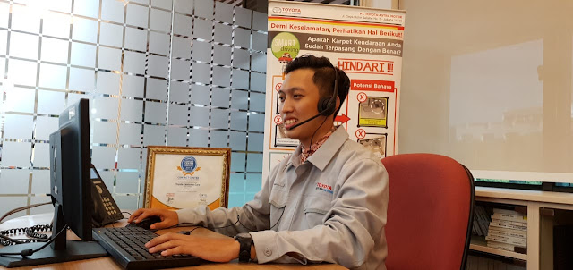 Toyota Raih Layanan Contact Center Terbaik