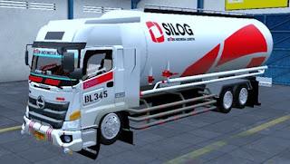 Mod Truck Hino 500 Tangki Semen